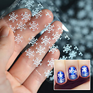 Lovely / Punk / Wedding Finger 3D Nail Stickers Acrylic 1 10*4*0.2