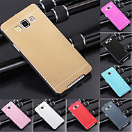 DF Luxury High Quality Solid Color Brushed Aluminium Hard Case for Samsung Galaxy A5