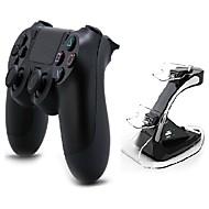 [pacakge regalo] de doble choque controlador de juegos inalámbrico bluetooth con la estación de carga para PS4