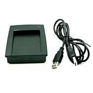 15 tyyli Esitysmuoto 125kHz em id usb-RFID-lukija 4 tavun desimaalin 8h10d USB Desktop kortinlukija ei ajuri
