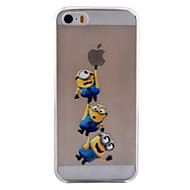 Yellow People Pattern TPU Soft Phone Case for iPhone 5C
