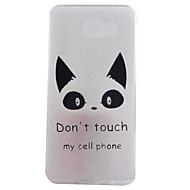 Mert Samsung Galaxy tok IMD Case Hátlap Case Cica Puha TPU Samsung A9(2016) / A7(2016) / A5(2016) / A3(2016)