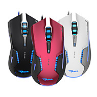 E-3lue E-Blue EMS616 Mazer Red Wired Gaming Mouse 2500DPI LED Optical