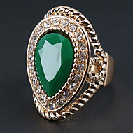 Prstenje sa stavom Kubični Zirconia Legura Moda Bohemia Style Crvena Zelen Jewelry Party 1pc