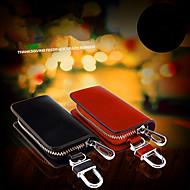 bil nøgle spænde bil forsyninger ægte læder nøgle taske / mand talje hængende centrale sæt af generelle formål