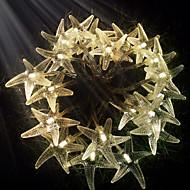 konge ro 30led sjøstjerner batteri ledet streng lys utendørs vanntett string lys (kl0022-rgb, hvit, varm hvit)