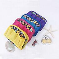 Fashion Multiple Pockets Oxford/Waterproof Cloth Travel Storage Bags(Random Colors)