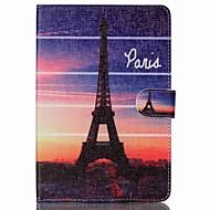 Eiffel-torony Folio bőr állni tok állvánnyal iPad mini 4