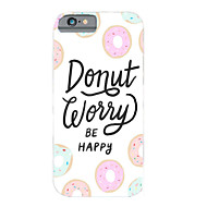 Personality in English Pattern PC Phone Case Hard Back Case Cover for iPhone6/6S Plus
