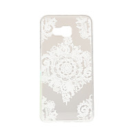 For Samsung Galaxy etui Transparent Mønster Etui Bagcover Etui blondedesign TPU for Samsung A7(2016) A5(2016) A3(2016) A7 A5 A3