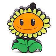 zpk47 16gb λουλούδι ηλίανθος usb μονάδα μνήμης flash 2,0 u κολλήσει