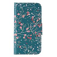 Na Samsung Galaxy S7 Edge Portfel / Etui na karty / Z podpórką / Flip Kılıf Futerał Kılıf Drzewo Skóra PU Samsung S7 edge / S7