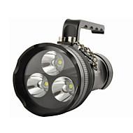 m9013 recargable de 4 modos 3xcree XM-T6 linternas impermeables& luces de la tienda (3x18650,6800lm)