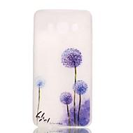 Mert Samsung Galaxy tok Foszforeszkáló Case Hátlap Case Pitypang TPU Samsung J5 (2016)