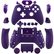 Replacement Controller Case Shell for Xbox One (Purple/Yellow/Green)