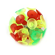 Flash lumineszcencia játékszer tapadókorong labda