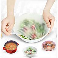 plastfolie tätning vakuum mat magiska wrap multifunktionella mat färsk köksverktyg