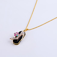32GB Necklace High Heels Shoe Jewelry USB 2.0 Rotatable Flash Memory Stick Drive U Disk ZP-11