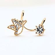 New Fashion Rhinestone Super Cute Little Bird Clip Earrings