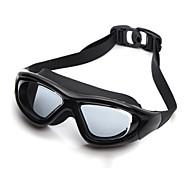 YUKE svømmebriller Dame / Herre / Unisex Anti-Tåge / Vandtæt / Justerbar Størrelse / Anti-UV / Brudsikker Silika Gele PC Sort / SølvBlå /