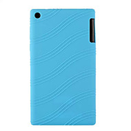"""silikongummi gelhud fallet täcker för fliken lenovo 2 a7-30 7 """"tablett (blandade färger)"""