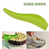 praktische Kuchen Fräswerkzeugen Kuchen Kuchen Slicer Blattführung Schneider Kuchenmesser schneiden ein Stück Küchengerät zufällige Farbe