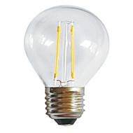 G45 2W E27 250LM 360 Degree Warm/Cool White Color Edison Filament Light LED Filament Lamp (AC220-240V)