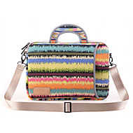 μοτίβα σημείωμα laptop τσάντα ώμου αδιάβροχο καμβά τσάντα χειρός για τον αέρα macbook 13.3 macbook pro13.3 / 15.4