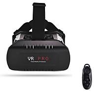 "caixa de vr óculos de realidade virtual óculos 3d caixa + bt controlador para 3,5 ~ 6 ""telefones"