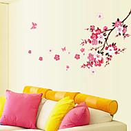 임의 색상-크리스마스 / 할로윈 / 새로움 / 만화-플라스틱-벽 스티커