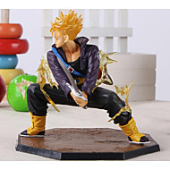 Dragon Ball Z Super Saiyan Trunks Battle Version Boxed PVC Action Figure Model Collection Toy 14cm