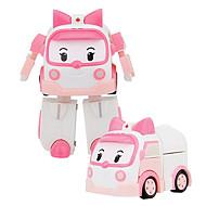 formskiftende robot abs for børn under 3 (4 stk) puslespil legetøj