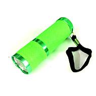 Belysning LED Lommelygter LED 50 Lumens 1 Modus LED AAA Liten størrelse Camping/Vandring/Grotte Udforskning / Dagligdags Brug