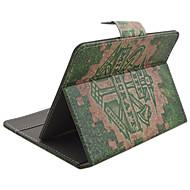 7インチユニバーサルタブレット用スタンドケース付きアニマル柄PUレザー