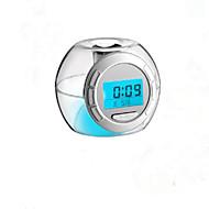 Transparent Colorful Color Clock Calendar And Alarm Clock