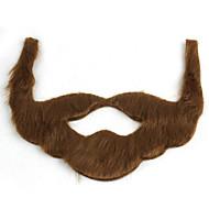 vacances jeu de rôle intéressant barbe en peluche brun gris noir