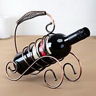 bærbare vintage rent jern vin rack