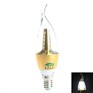 7W E14 LED svíčky Otočná 25 SMD 2835 600 lm Přirozená bílá Ozdobné AC 85-265 V 1 ks