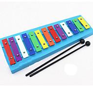 banke på piano tre fargerike musikk leketøy for barn