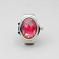 Women's Ring Watch Beautifully Elegant Upscale Rose Unique Ring Table(Assorted Colors)