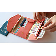Reisportemonnee Paspoorthouder & ID-houder Opbergproducten voor op reis voor Opbergproducten voor op reis Donkerblauw Roos Bruin Rood