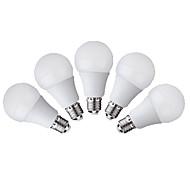 E26/E27 LEDボール型電球 G60 12 SMD 3528 500 lm 温白色 クールホワイト 装飾用 交流220から240 V 5個