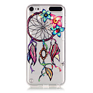 dreamcatcher patroon TPU hulp Cover Case voor ipod touch 5 / touch 6
