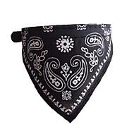 Totem Design Adjustable Dog Collar Dog Bandanas Triangle Scarf for Cats Pets
