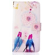 For Samsung Galaxy etui Kortholder / Pung / Med stativ / Flip / Præget Etui Heldækkende Etui Drømmefanger Kunstlæder SamsungJ5 (2016) /