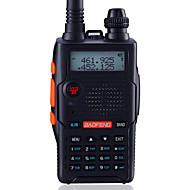 宝豊 ハンドヘルド / デジタル UV-5R5TH-BLK FMラジオ / 音声プロンプト / デュアルバンド / デュアルディスプレイ / デュアルスタンバイ / LCDディスプレイ / CTCSS/CDCSS 1.5KM-3KM
