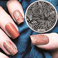 2016 najnowsze płyty szablonu tłoczenia zdjęciu wersja wzór mody paznokci sztuki