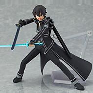 Anime Φιγούρες Εμπνευσμένη από Sword Art Online Saber PVC 13 CM μοντέλο Παιχνίδια κούκλα παιχνιδιών
