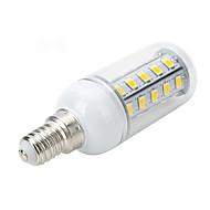 6W E14 / E26/E27 LED a pannocchia T 36 SMD 5730 500-600 lm Bianco caldo / Luce fredda AC 220-240 V