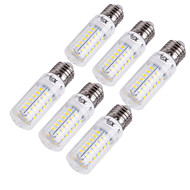YouOKLight® 6PCS E14/E27 15W 1350lm CRI>80 3000K/6000K 56*SMD5730 LED Light Corn Bulb (110-120V/220-240V)